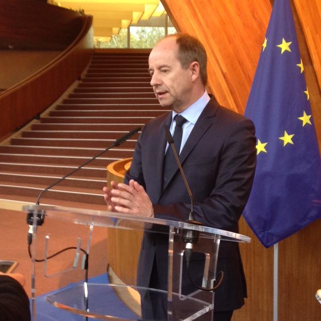 Visite Au Conseil De L U2019europe Du Ministre De La Justice